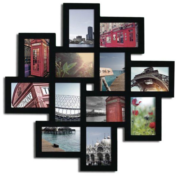 مجموعه قاب عکس های چوبی متصل